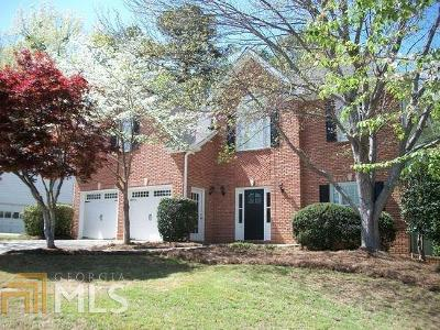 Suwanee Single Family Home For Sale: 1555 Ascot Ct