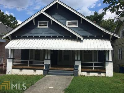 Old Fourth Ward Single Family Home For Sale: 409 Arnold St