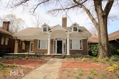 Virginia Highland Single Family Home For Sale: 1218 Monroe Dr