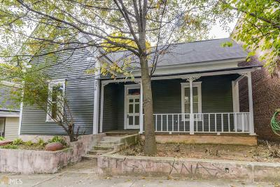 Old Fourth Ward Single Family Home For Sale: 238 Sampson