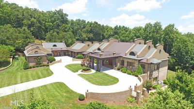 Bartow County, Cherokee County, Coweta County, Dawson County, Fannin County, Fayette County, Forsyth County, Fulton County, Gilmer County, Hall County, Pickens County, Rockdale County, Walton County Single Family Home For Sale: 4729 J M Turk Rd