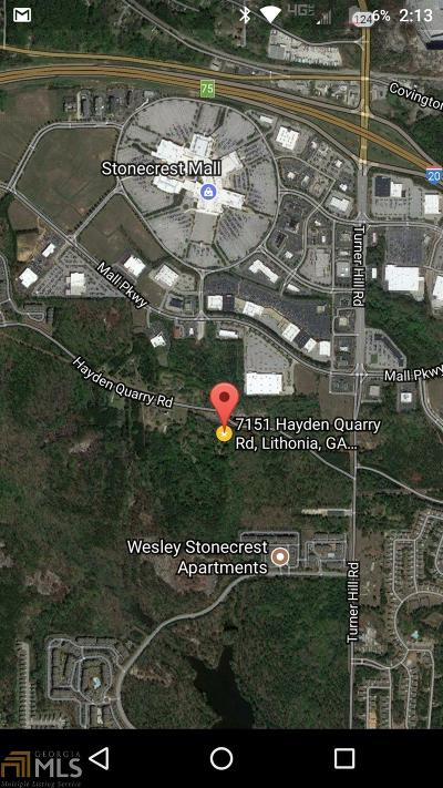 Lithonia Residential Lots & Land For Sale: 7151 Hayden Quarry Rd