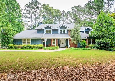 Peachtree City Single Family Home For Sale: 104 Woodfield Ct
