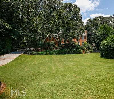 Fulton County Single Family Home For Sale: 3600 Glen Crossing Dr