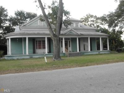 Statesboro Single Family Home For Sale: 3 East Kennedy St