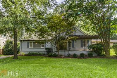 Virginia Highland Single Family Home For Sale: 1336 Briarwood Dr