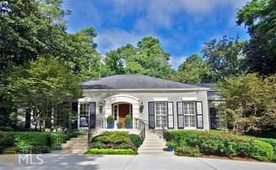 Buckhead Single Family Home For Sale: 3352 Chatham Rd