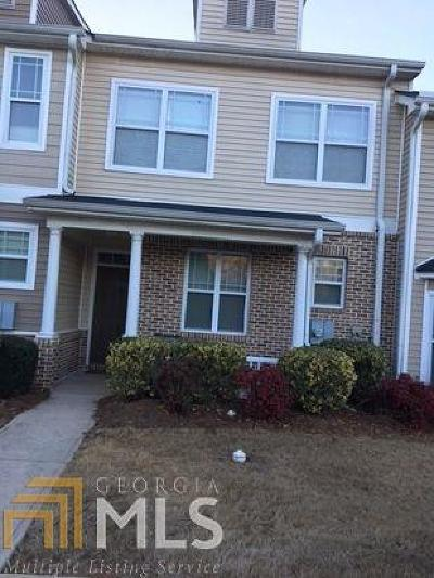 Clayton County Condo/Townhouse For Sale: 6208 Ellenwood Dr