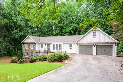 Fulton County Single Family Home For Sale: 5360 Timber Trl