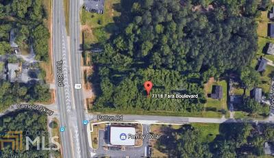 Jonesboro Commercial For Sale: 7118 Tara Blvd