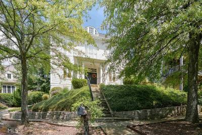Kennesaw Single Family Home For Sale: 1466 Hedgewood Ln