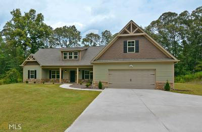 Newnan Single Family Home New: 417 Doc Perry Rd