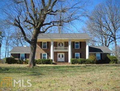 Elbert County, Franklin County, Hart County Single Family Home For Sale: 451 Toms Creek