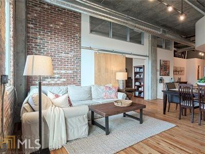 Buckhead Village Lofts Condo/Townhouse For Sale: 3235 Roswell Rd #814