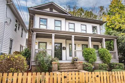 Old Fourth Ward Single Family Home For Sale: 553 Irwin St