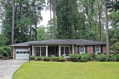 Chamblee Single Family Home New: 3879 Captain Dr