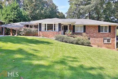 Fulton County Single Family Home New: 6850 Heathfield Dr