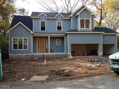 College Park Single Family Home New: 3463 Napoleon St