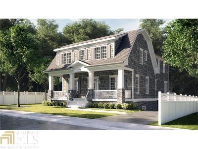 Decatur Single Family Home New: 119 W Benson St