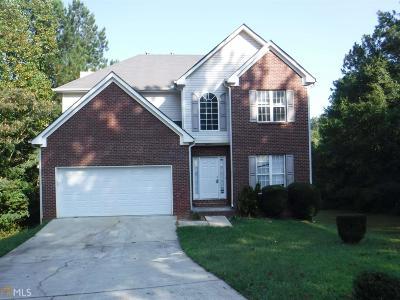 Clayton County Single Family Home New: 398 Vicksburg Ct