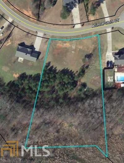 Newnan Residential Lots & Land For Sale: Acropolis Ct #Lot B33