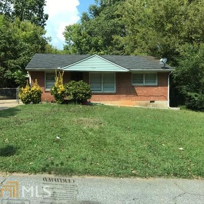 Clayton County Single Family Home For Sale: 1126 Grace Dr