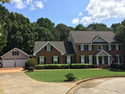 Gwinnett County Single Family Home New: 820 Eagle Cove Way