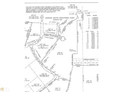 Newnan South Industrial Park Residential Lots & Land For Sale: 200 Ellen Sims Ct #Tract 15