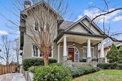 Virginia Highland Single Family Home For Sale: 559 Orme Cir