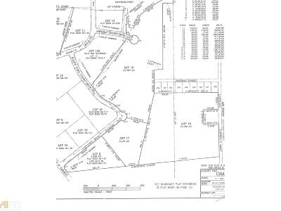 Newnan South Industrial Park Residential Lots & Land For Sale: 20 Ellen Sims Ct #Tract 8