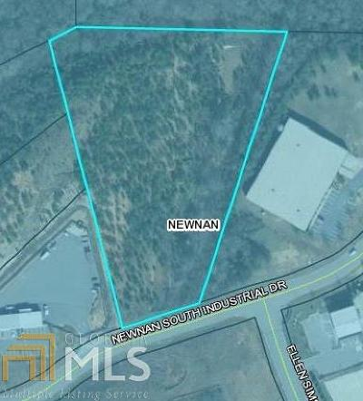 Newnan South Industrial Park Residential Lots & Land For Sale: 60 Newnan South Industrial Dr #Tract 10