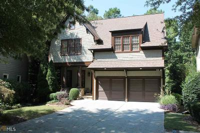 Cobb County Single Family Home New: 1472 Hedgewood
