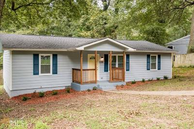 Fulton County Single Family Home For Sale: 2384 Forrest Park Rd