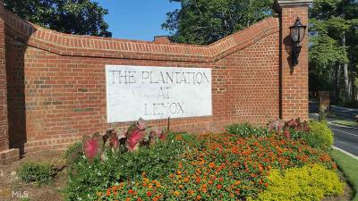Plantation At Lenox Condo/Townhouse For Sale: 23311 Plantation Dr