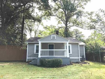 Atlanta Single Family Home Under Contract: 2502 Barge