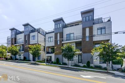 Poncey Highland Condo/Townhouse For Sale: 600 Bonaventure #11