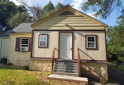 Atlanta Single Family Home New: 2009 Baker Rd