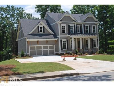 Cobb County Single Family Home New: 3631 Ridge Road