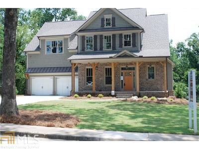 Cobb County Single Family Home New: 3621 Ridge Road