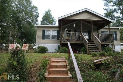 Greensboro, Eatonton Single Family Home For Sale: 296 Burtom Rd