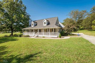 Loganville Single Family Home Back On Market: 460 Hope Hollow Rd