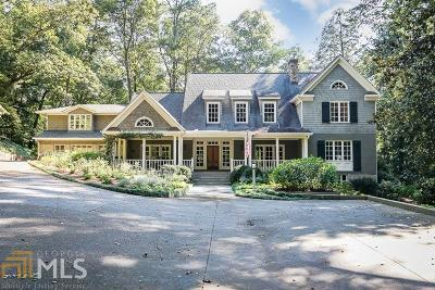 Buckhead Single Family Home For Sale: 3155 Ridgewood Rd