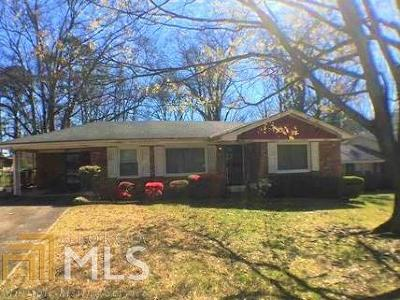 Fulton County Single Family Home For Sale: 2562 SW Springdale Rd