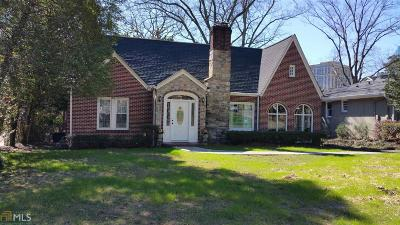 Fulton County Single Family Home For Sale: 3551 Kingsboro Rd