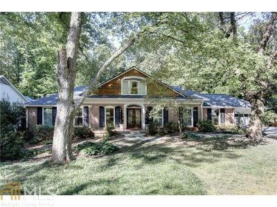 Sandy Springs Single Family Home For Sale: 6130 River Shore Pkwy
