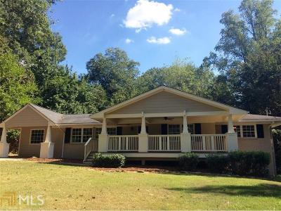 Historic Marietta Single Family Home For Sale: 159 Atwood Dr