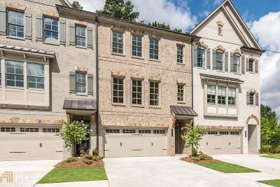 Brookhaven Condo/Townhouse For Sale: 2538 Skyland #5