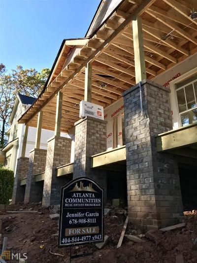 Hapeville Single Family Home For Sale: 545 Oak Dr