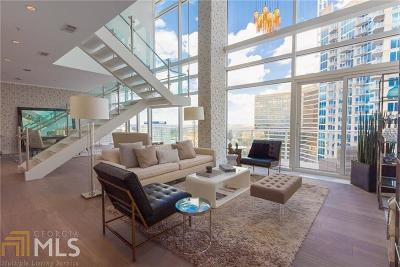 W Residences Condo/Townhouse For Sale: 45 Ivan Allen Jr Blvd #2701