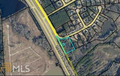 Statesboro Residential Lots & Land For Sale: Chanabby Ct